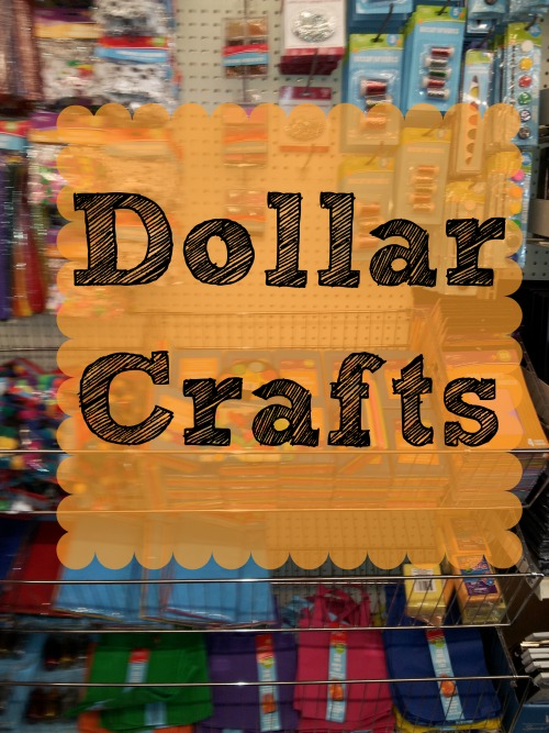 dollar crafts for kids bargainbriana