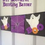 Dollar Store DIY Boo-tiful Bunting Banner
