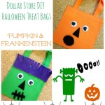 Dollar Store DIY Halloween Treat Bags Tutorial