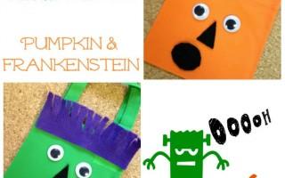 Dollar Store DIY: Halloween Treat Bags