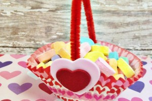 DIY Valentine's Day Treat Basket