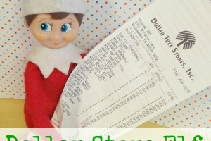 {Elf on the Shelf} Dollar Store Elf