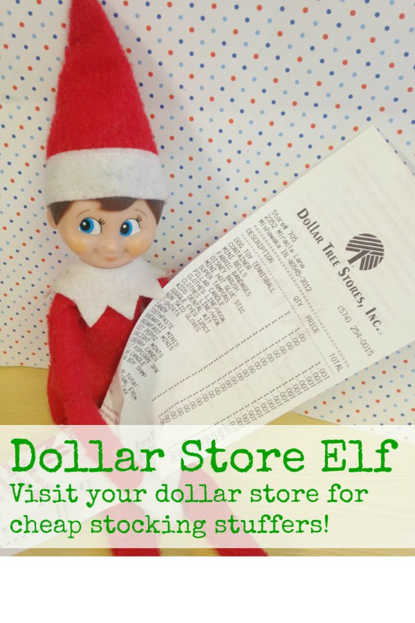 Dollar Store Elf via Bargain Briana