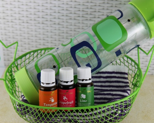 Drink More Water Gift Basket Idea