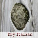 Dry Italian Seasoning Substitute