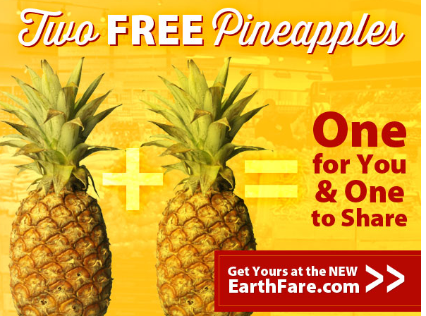 Earth Fare Free Pineapples