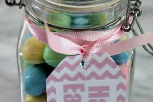 Easter Jar Gift Idea
