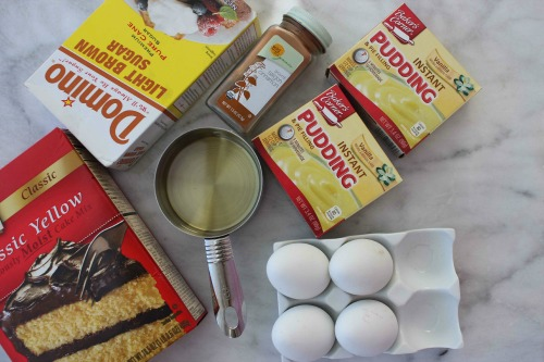 Easy Coffee Cake Ingredients