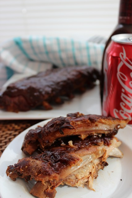 Easy Crock Pot Coke Baby Back Ribs