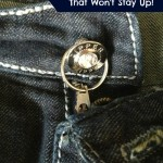 Easy Fix for a Zipper That Won't Stay up