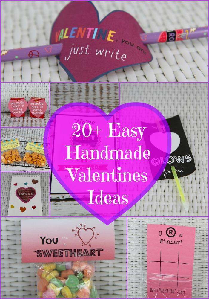 Easy Handmade Valentines Ideas