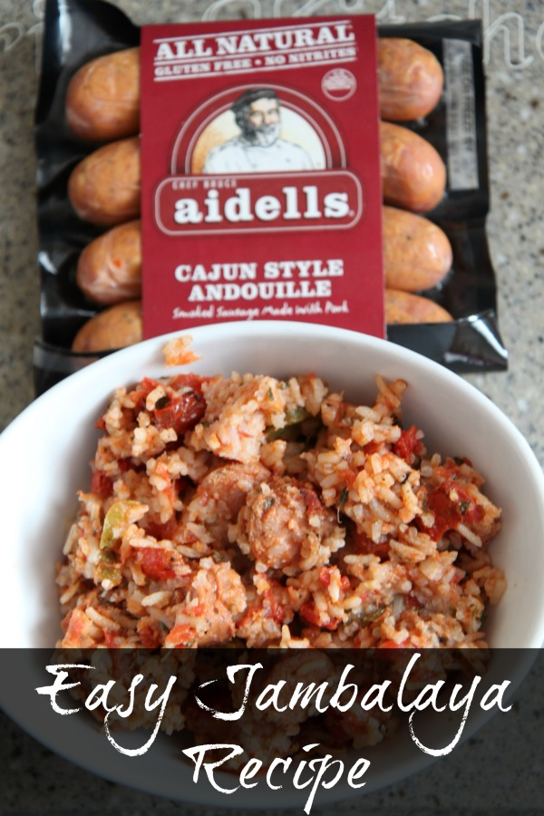 Easy Jambalaya Recipe - Weeknight Favorite