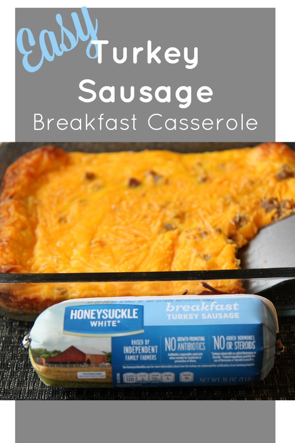 Easy Turkey Sausage Breakfast Casserole Recipe