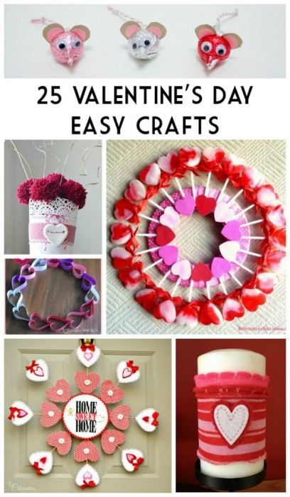 25 Valentine's Day Easy Crafts