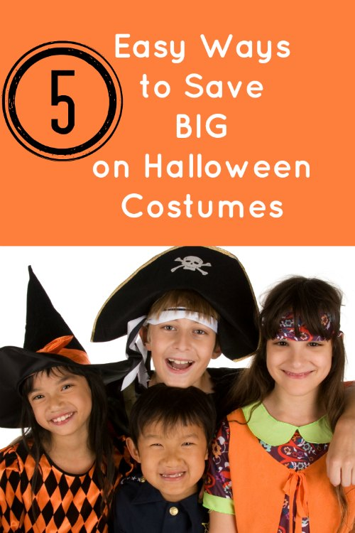 Easy Ways to Save Big on Halloween Costumes