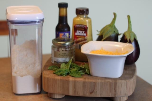 Eggplant Burger Ingredients