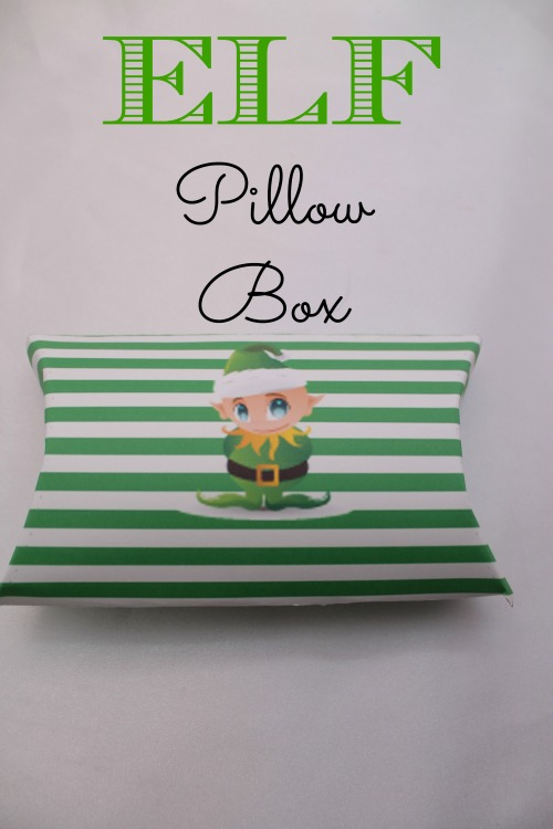 Elf Pillow Box for Christmas