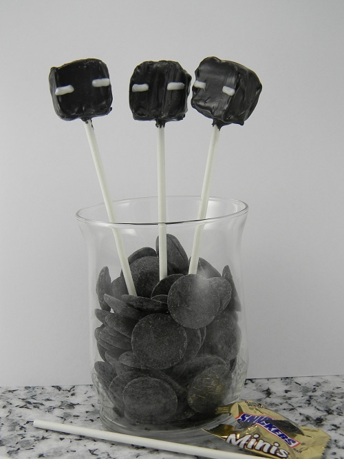 Enderman pops