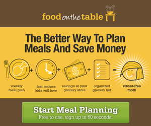 Food on the Table: Plan Meals and Save Money