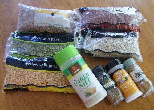 Fall Friendship Soup Gifts in a Jar Ingredient List
