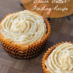 Fall - Pumpkin Spice Brown Butter Frosting Recipe