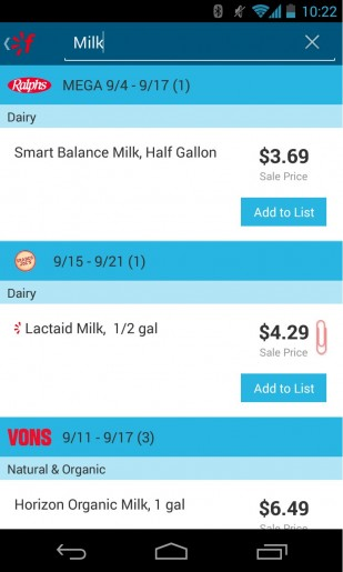 Favado: New App to Help You Save Money at the Grocery Store
