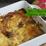 Feta and Parmesan Zucchini Bake Recipe