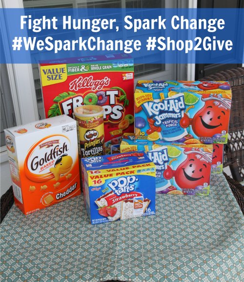 Fight Hunger Spark Change Shop2Give