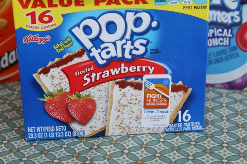 Fight Hunger Sticker on Poptarts