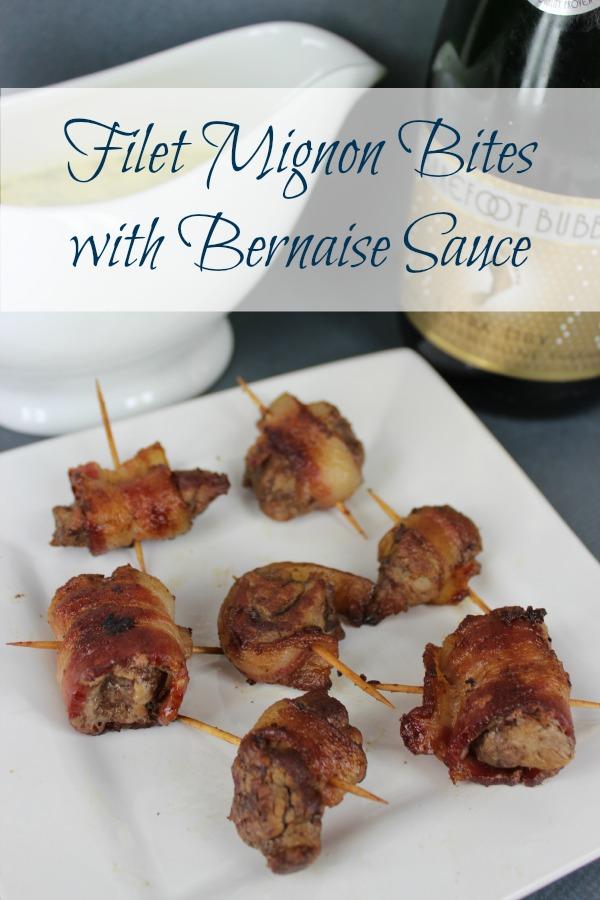 Filet Mignon Bites with Bernaise Sauce