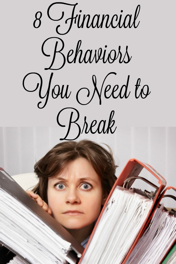 Financial Behaviors You Need to Break