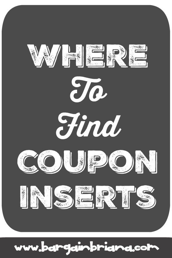 Finding Coupon Inserts - Learn to Coupon 101