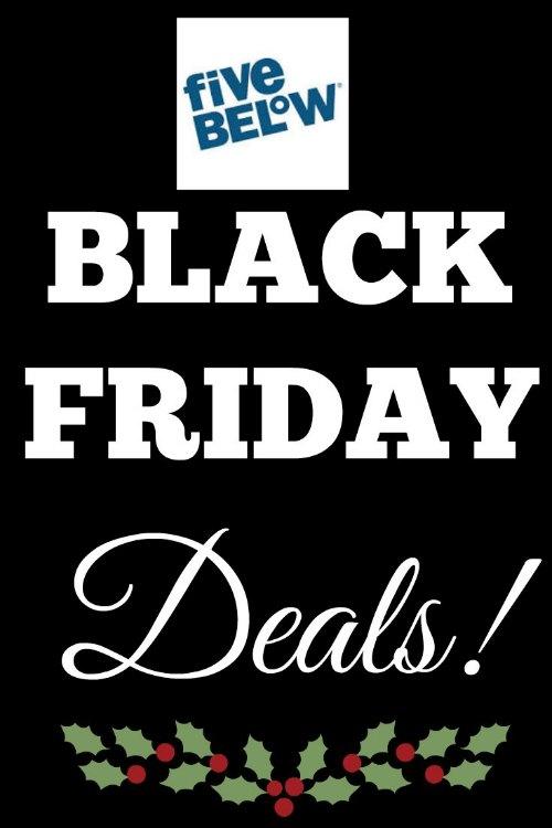 Five Below Black Friday Deals