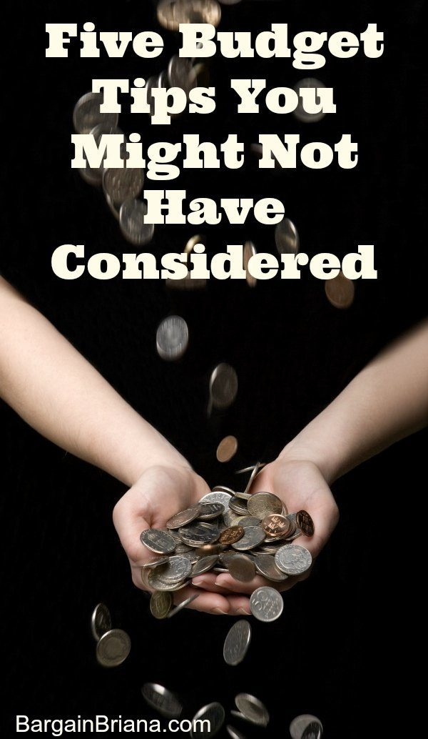 Five Budget Tips You Might Not Have Considered
