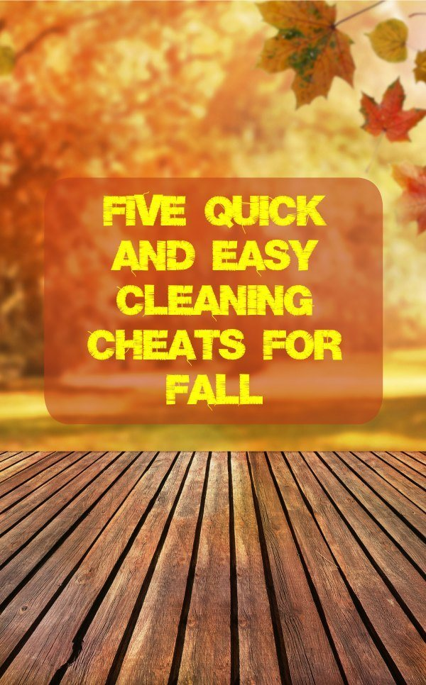 Five Quick and Easy Cleaning Cheats for Fall