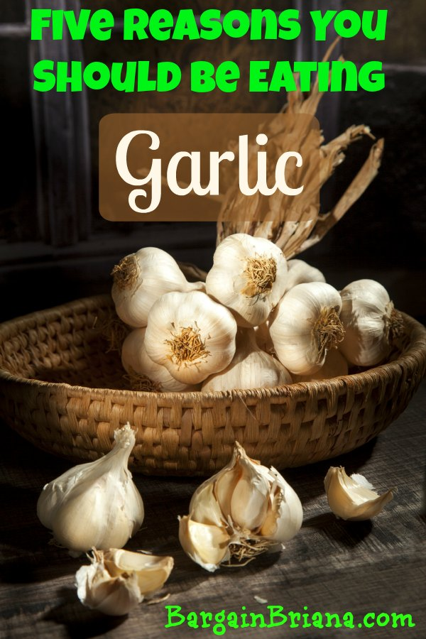 Five Reasons You Should Be Eating Garlic