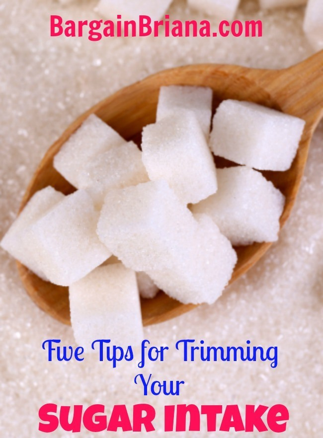 Five Tips For Trimming Your Sugar Intake
