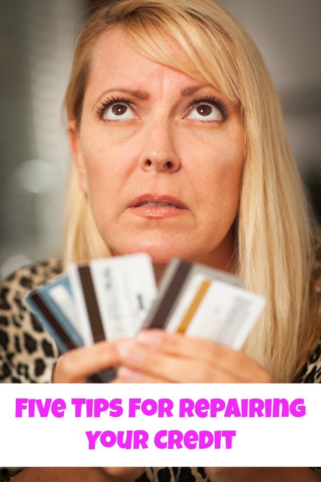 Five Tips for Repairing Your Credit