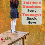 5 Toll-Free Numbers Every Teenager Should Have