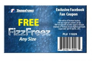 Fizz Freeze 300x200 Thorntons: Free FizzFreez (Any Size)