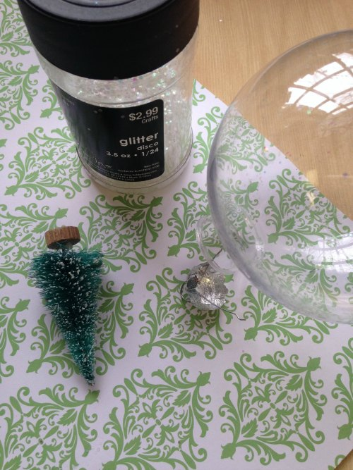 Floating Tree Ornament Supplies Needed