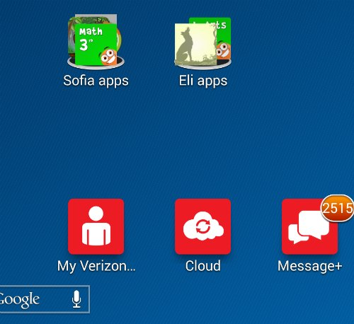 Folders for Apps