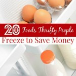 Foods to Freeze to Save Money