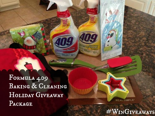Formula 409 Baking and Cleaning Holiday Giveaway Package