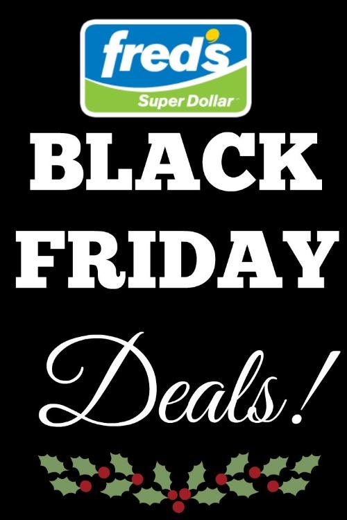 Freds Super Dollar Black Friday Deals