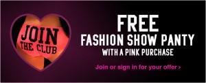 Free Fashion Show Panty