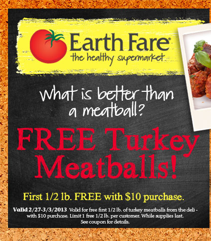 Free Turkey Meatballs