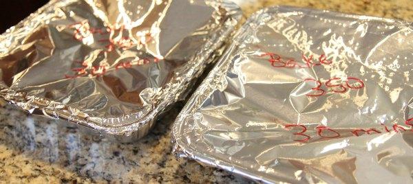 Freezer Friendly Leftover Turkey Meal