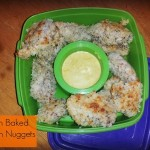 {Freezer to Lunchbox Series} Oven Baked Chicken Nuggets