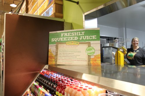 Fresh Juice at Fresh Thyme